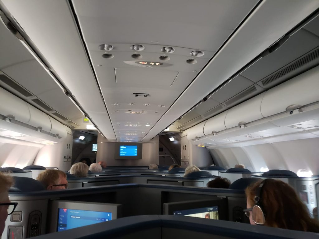 Delta One Airbus A330 DL144 Seattle to Amsterdam Review | EYES ON