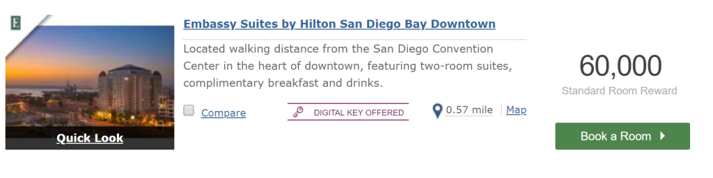 American Express Points Put to Good Use – Hotels (Hilton